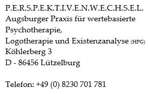 Adresse Praxis